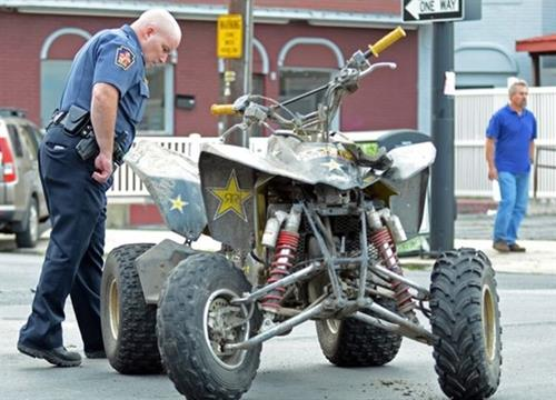 APD Conducts ATV & Dirtbike Operation
