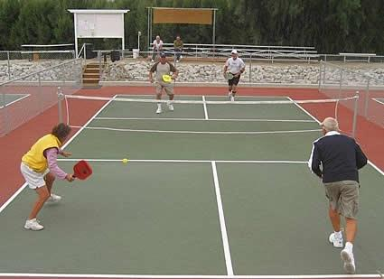 City Offers 7 Outdoor Pickleball Courts