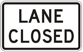 Ninth Street Lane Closure