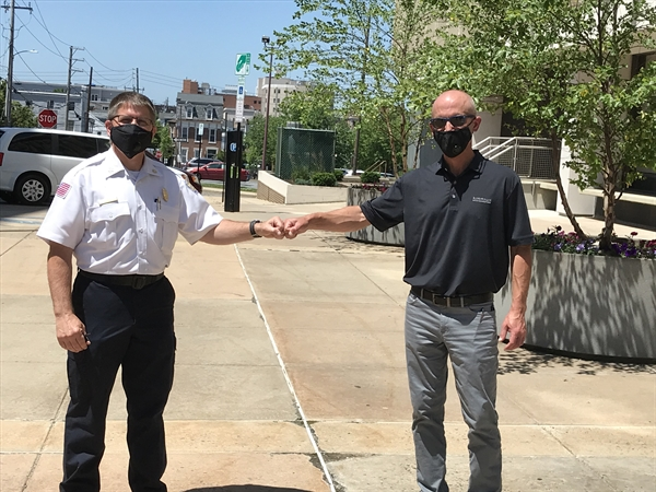 Bethlehem Firm Donates Face Masks to AFD
