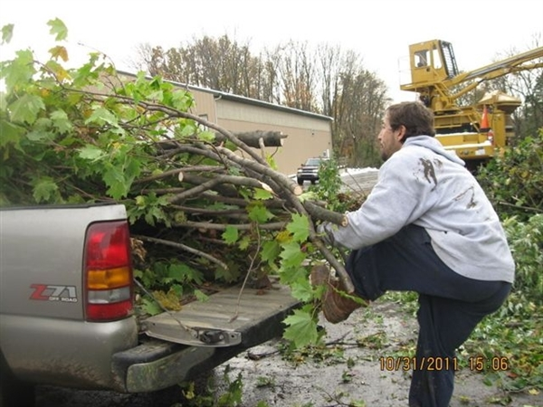 Yard Waste Site Holiday Closing