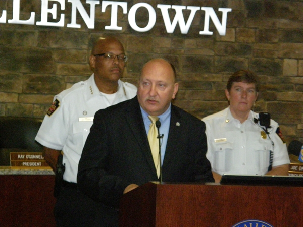 Allentown Crime Rate Falls