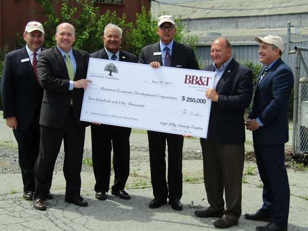 Grant Received for Allentown Metal Works Site
