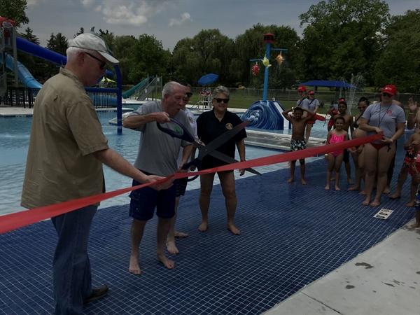 Cedar beach pool opens allentownpa gov - Cedar beach swimming pool allentown pa ...