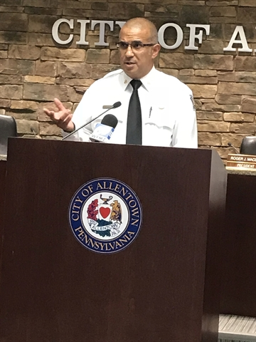 Council Confirms Fire Chief