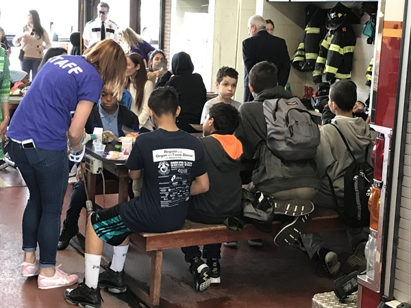 Firehouse Fridays Provide Free Youth Meals