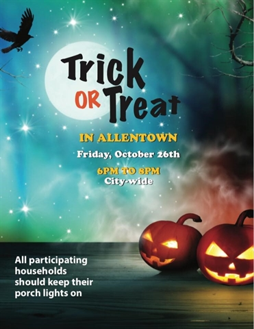 Allentown Top Place to Trick-or-Treat