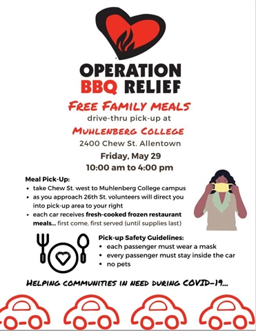 Operation BBQ Relief Community Meal Distribution