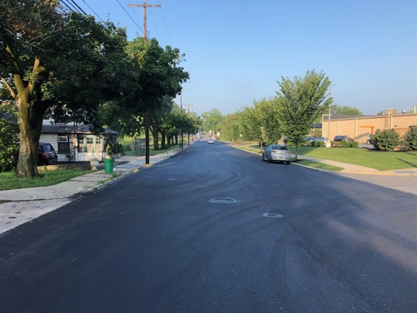 Flood Damaged Street Reopened