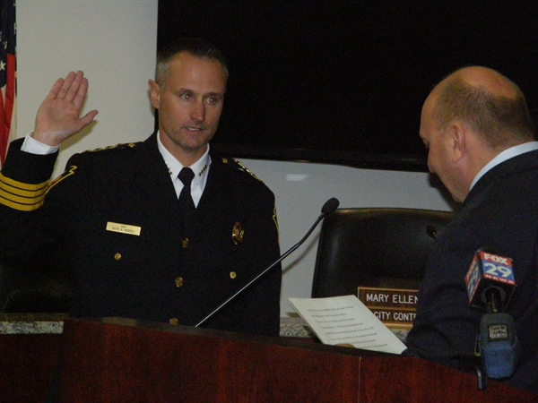 Chief Morris Takes Oath