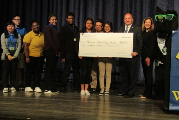 Recyclebank Pays for Allen HS