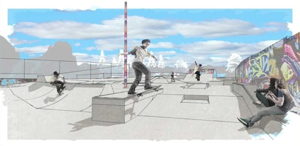 State Awards $300,000 Grant for Skate Park
