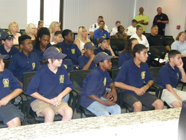 Advanced Youth Police Academy Graduates
