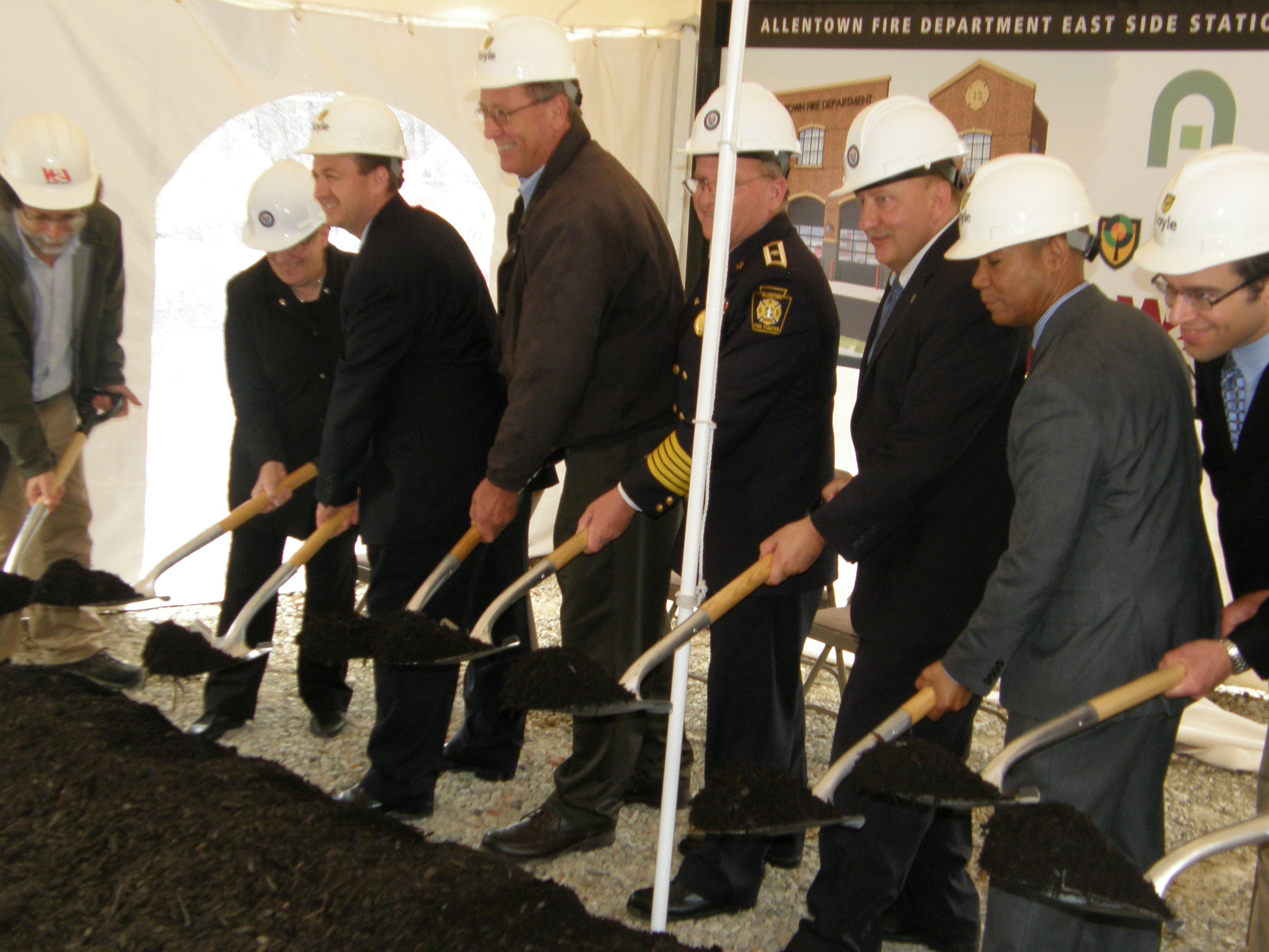 Ground Broken for East Side Fire Station