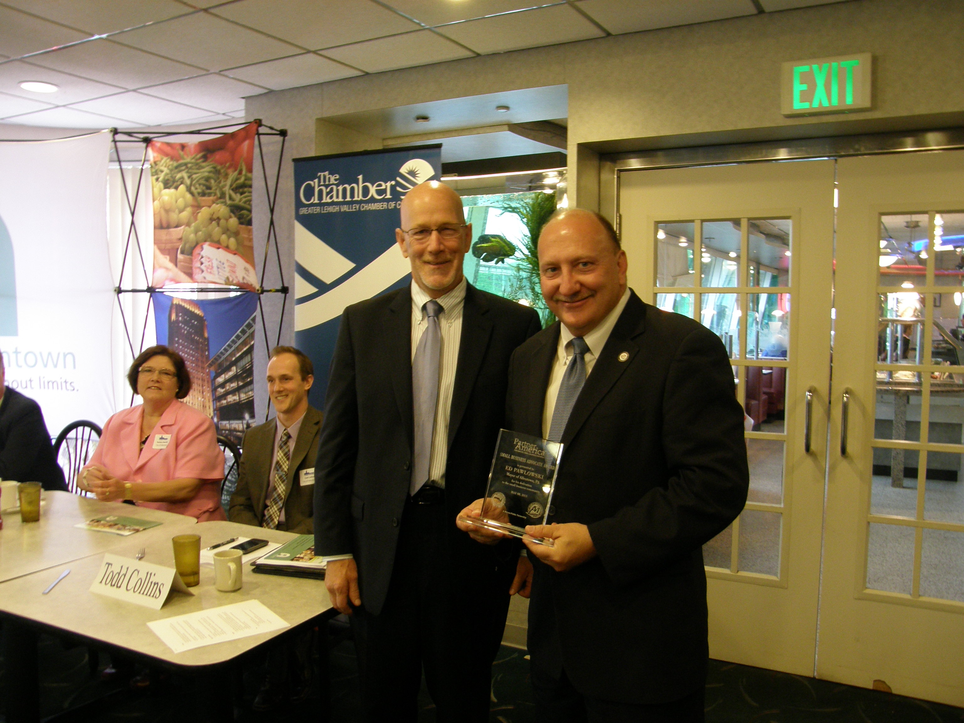 Pawlowski Honored with Small Business Award