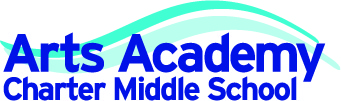 Link to the Arts Academy Charter Middle School website