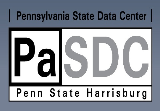 Click here to go to the Pennsylvania State Data Center website.