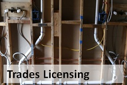 Trades Licensing