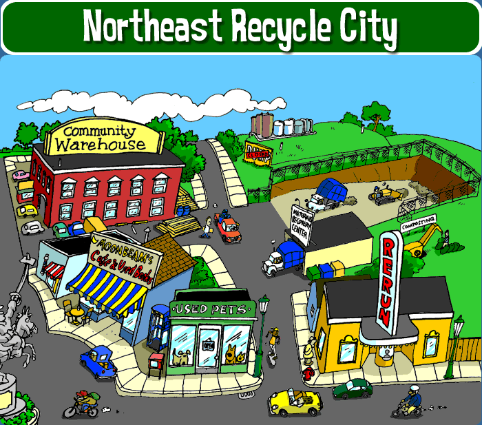 Click here to go to the Recycle City page of the EPA website.