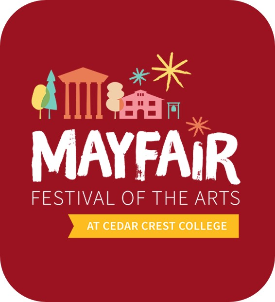 Click here to go to the Mayfair Festival of the Arts page of the Cedar Crest website.