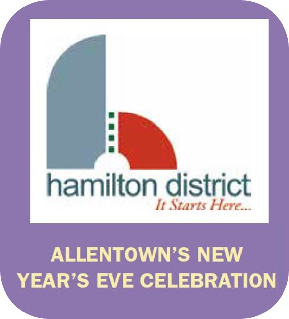Click to go to the Allentown's New Year's Eve Celebration page of the Downtown Allentown website.