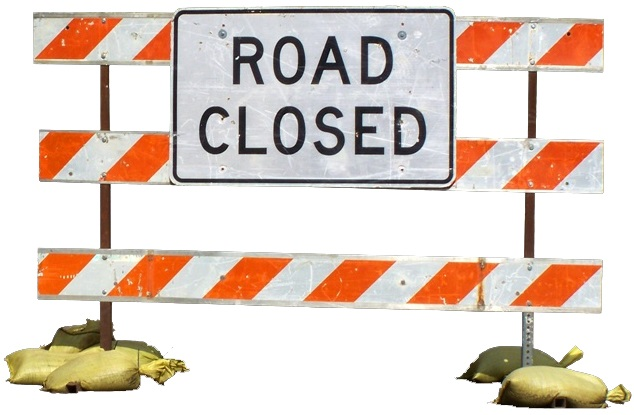 Click to go to the Street Closures page.