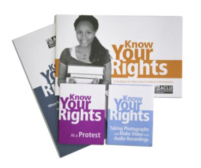 Click here to go to the Know Your Rights page of the ACLU Pennsylvania website.