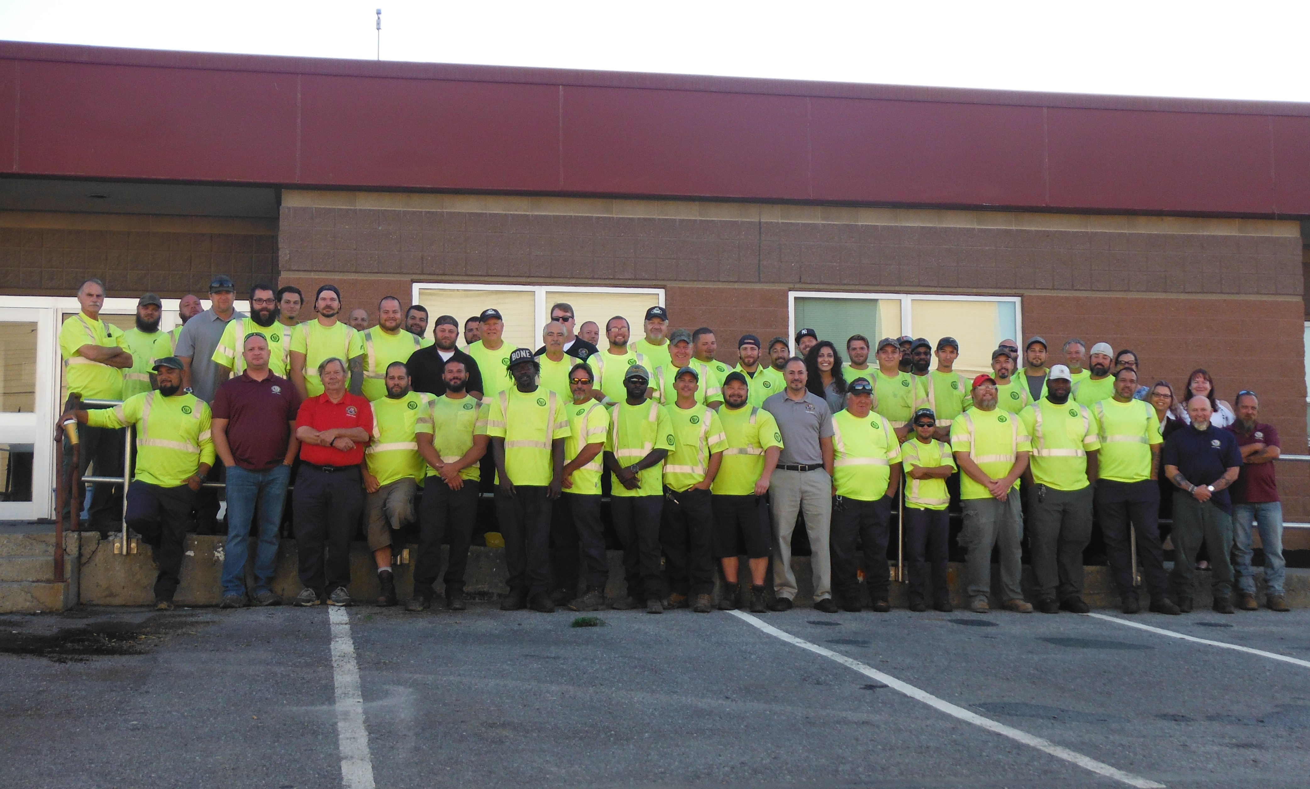 Streets Department Staff - August 2019